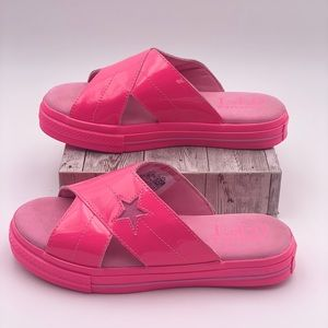 Converse Shoes - Converse One Star Slide Hyper Pink